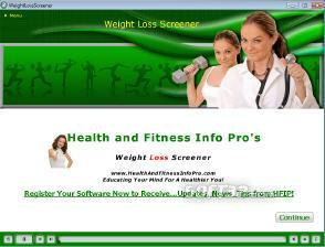 Weight Loss Screener Screenshot 2