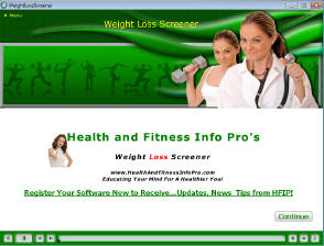 Weight Loss Screener Screenshot 1