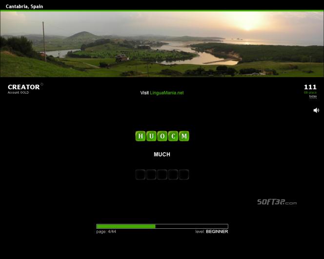 Lingua Mania Screensaver Spanish-English Screenshot 2