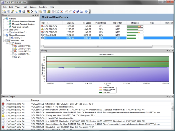 SMART Disk Monitor Screenshot 1