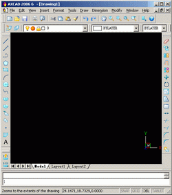 AXCAD 2008 Screenshot