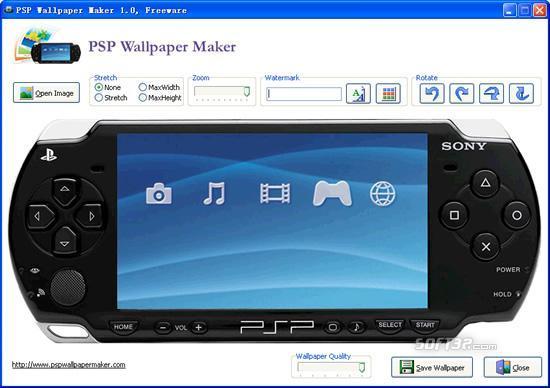 PSP Wallpaper Maker Screenshot 3