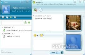 Flea IM-AJAX Driven Web Instant Messenger Screenshot 3