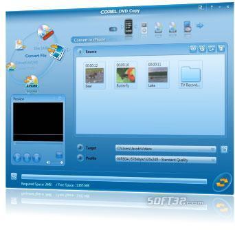 Corel DVD Copy Screenshot 3