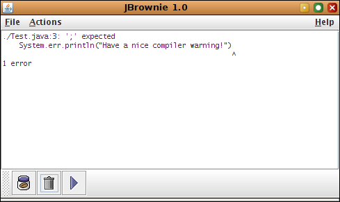 JBrownie Screenshot 1