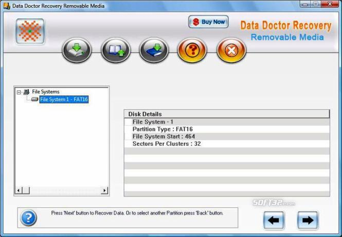 Digital Storage Data Recovery Software Screenshot 3