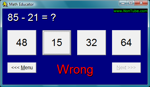Math Educator Screenshot