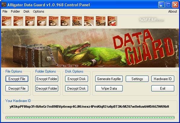 Alligator Data Guard Screenshot 3