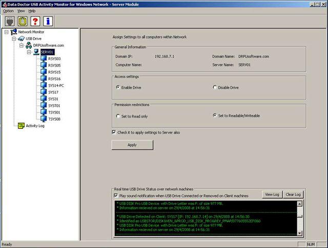 USB Port Blocker Screenshot