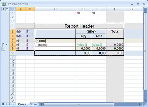 .Net Excel or OpenOffice report generator Screenshot