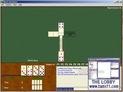 Tams11 Block Dominoes Screenshot 3
