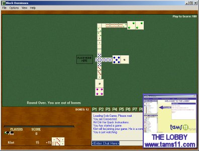 Tams11 Block Dominoes Screenshot