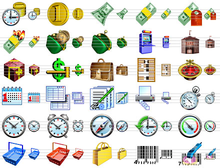 Business Software Icons Screenshot 1