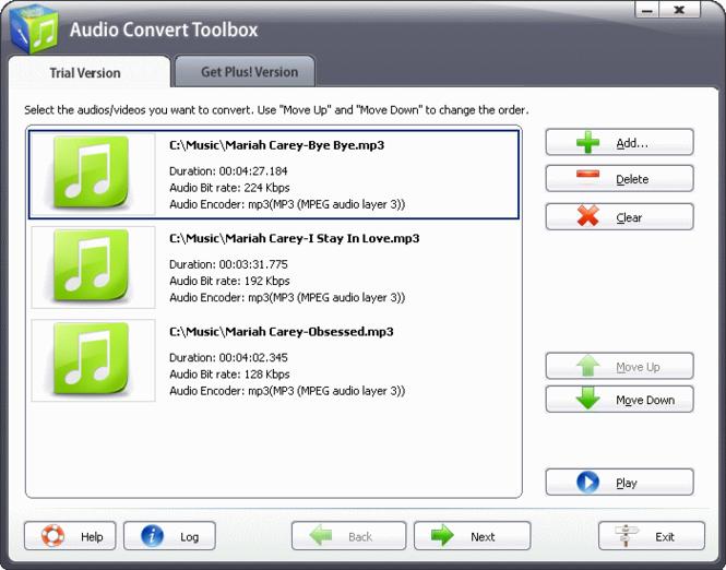 Audio Convert Toolbox Screenshot 2