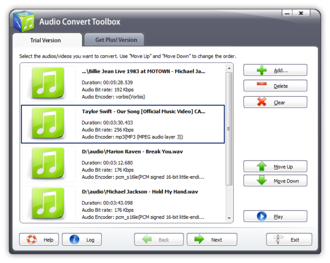 Audio Convert Toolbox Screenshot