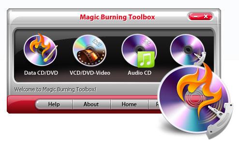 Magic Burning Toolbox Screenshot 2