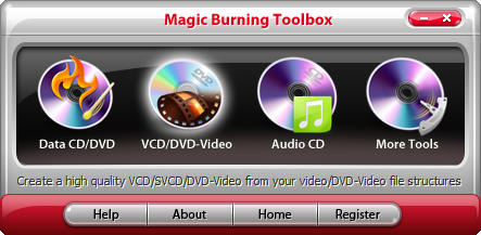 Magic Burning Toolbox Screenshot