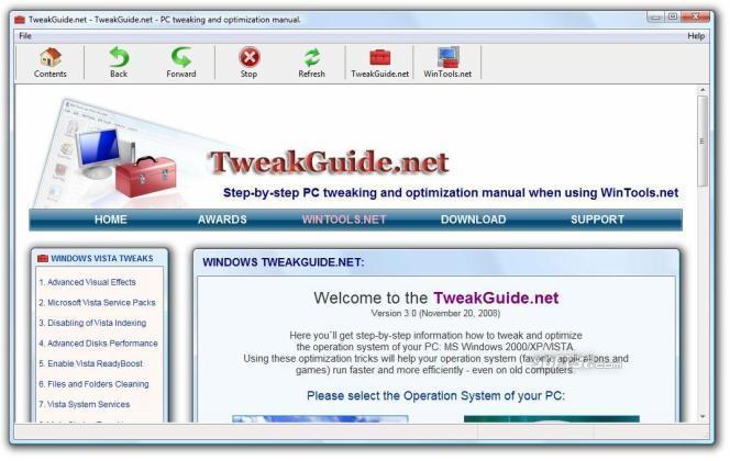 TweakGuide.net Screenshot 3