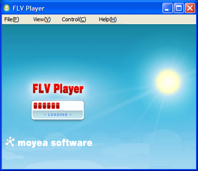 Moyea FLV Player Screenshot 1