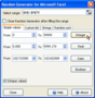 Random Generator for Microsoft Excel 1