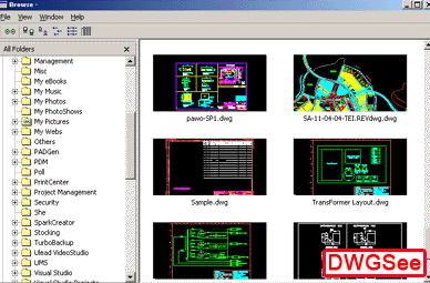Autodwg DXF view pro 2009.04 Screenshot