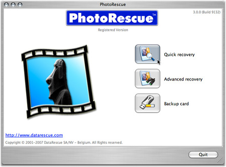 PhotoRescue Mac EN Screenshot
