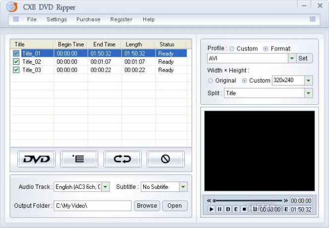 Shine DVD Ripper Screenshot 3