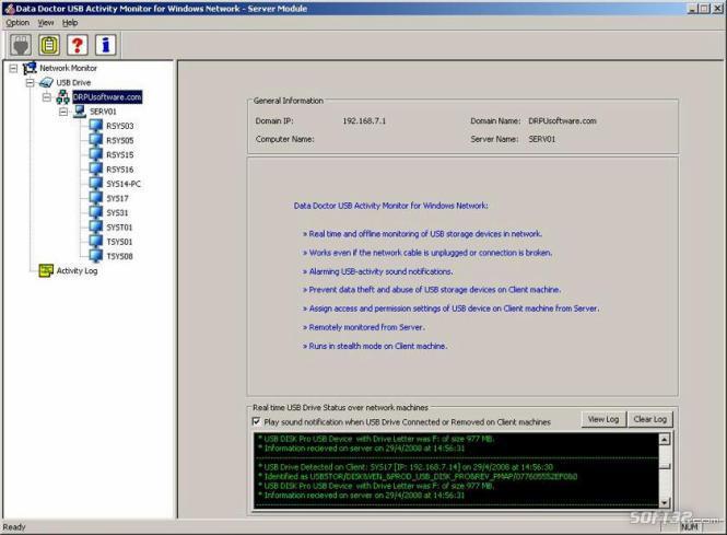 LAN USB Controller Screenshot 3