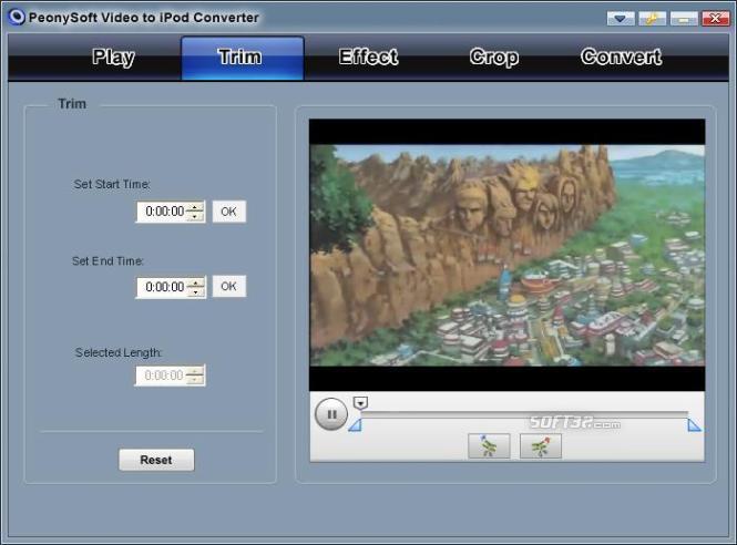 PeonySoft iPod Video Converter Screenshot 2