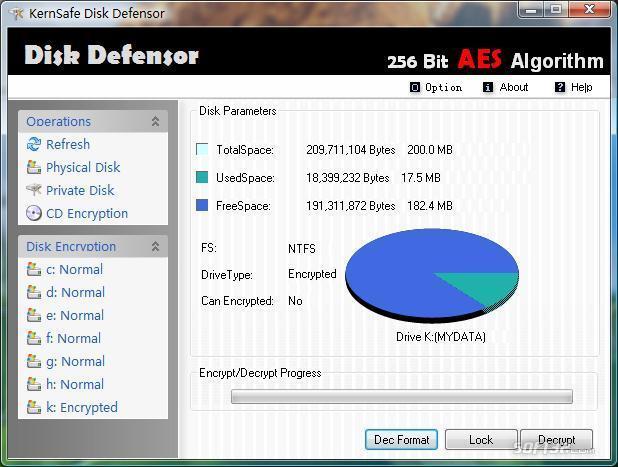 Disk Defensor Screenshot 1