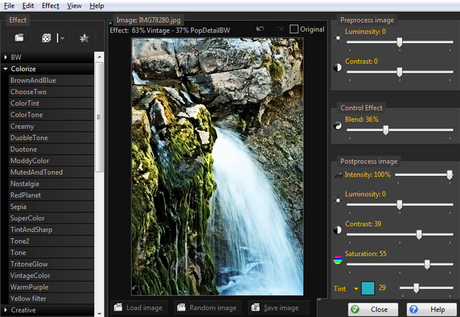 PhotoChances Photoshop Plugin Screenshot