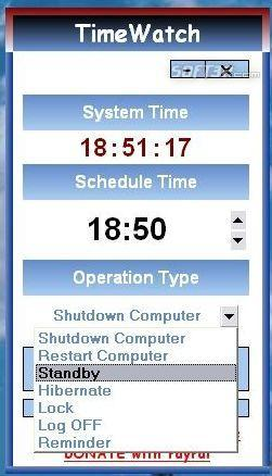 TimeWatch Screenshot