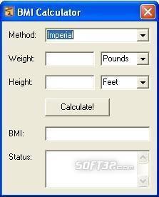 BMI Body Mass Index Calculator Screenshot 3