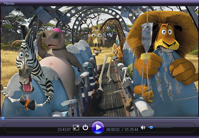 Free Movie Player Screenshot