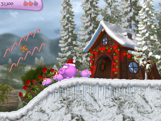 Piggly Christmas Edition Screenshot