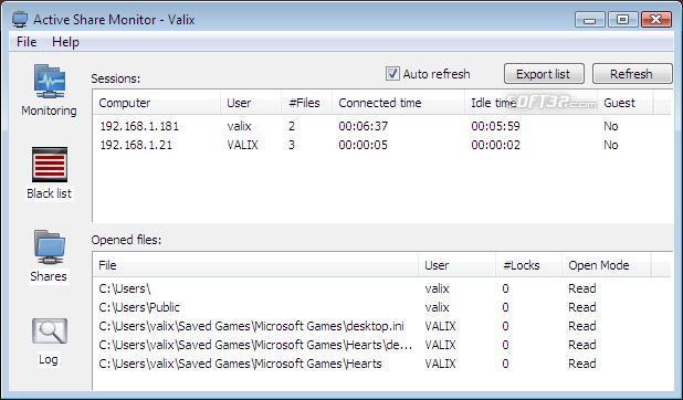 Active Share Monitor Screenshot 3