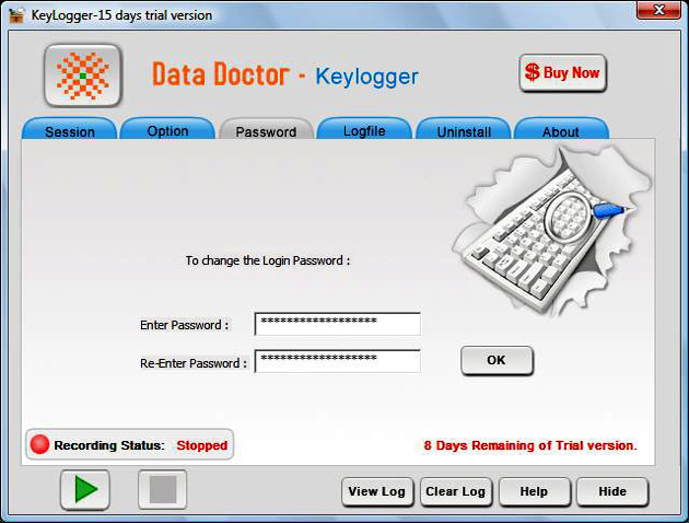 Professional Keyboard Monitor Tool Screenshot