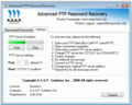 Advanced FTP Password Recovery 1