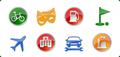Icons-Land Vista Style POI Icon Set 1
