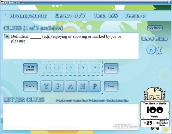 Brainisaurus Screenshot 3