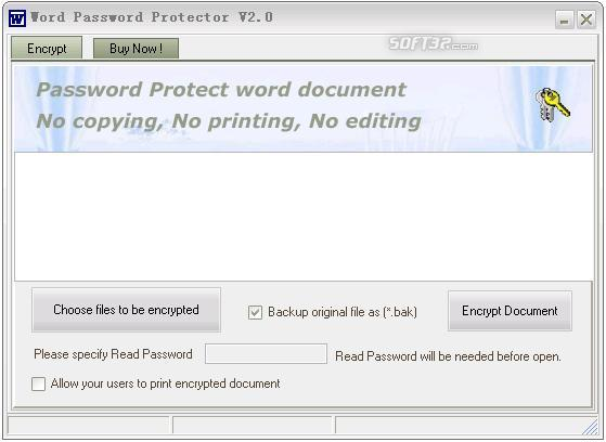 Word Password Protector Screenshot 2
