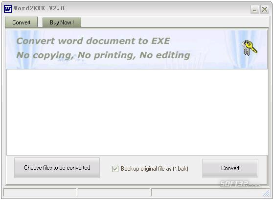 Word2EXE - Word to EXE Screenshot 2