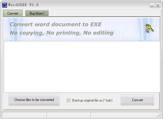 Word2EXE - Word to EXE Screenshot 1