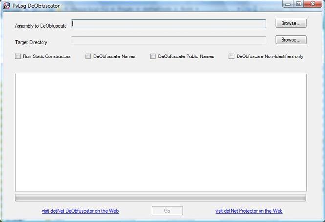 PvLog DeObfuscator 64-bit x64 Screenshot