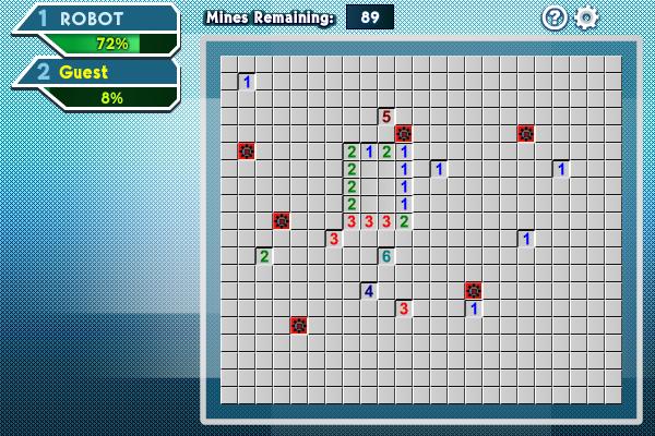 Mine Sweeping Race Screenshot 1
