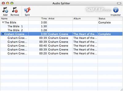 Macsome Audio Splitter for Mac Screenshot 2