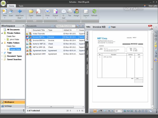 Sohodox Screenshot 2