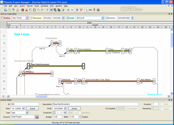 Phoenix Project Manager Screenshot