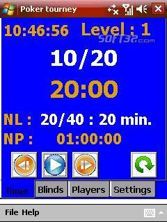 Poker tourney manager Screenshot 3