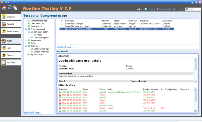 Testuff Screenshot 1